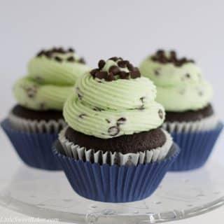 Chocolate mint cupcake recipe