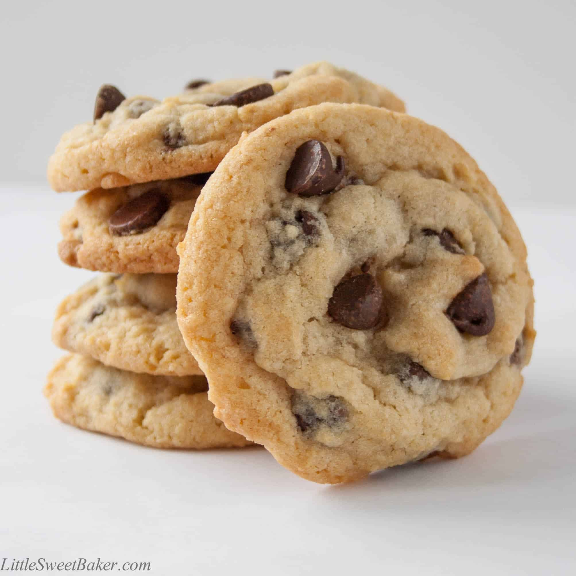 Best Chocolate Chip Cookies - Little Sweet Baker