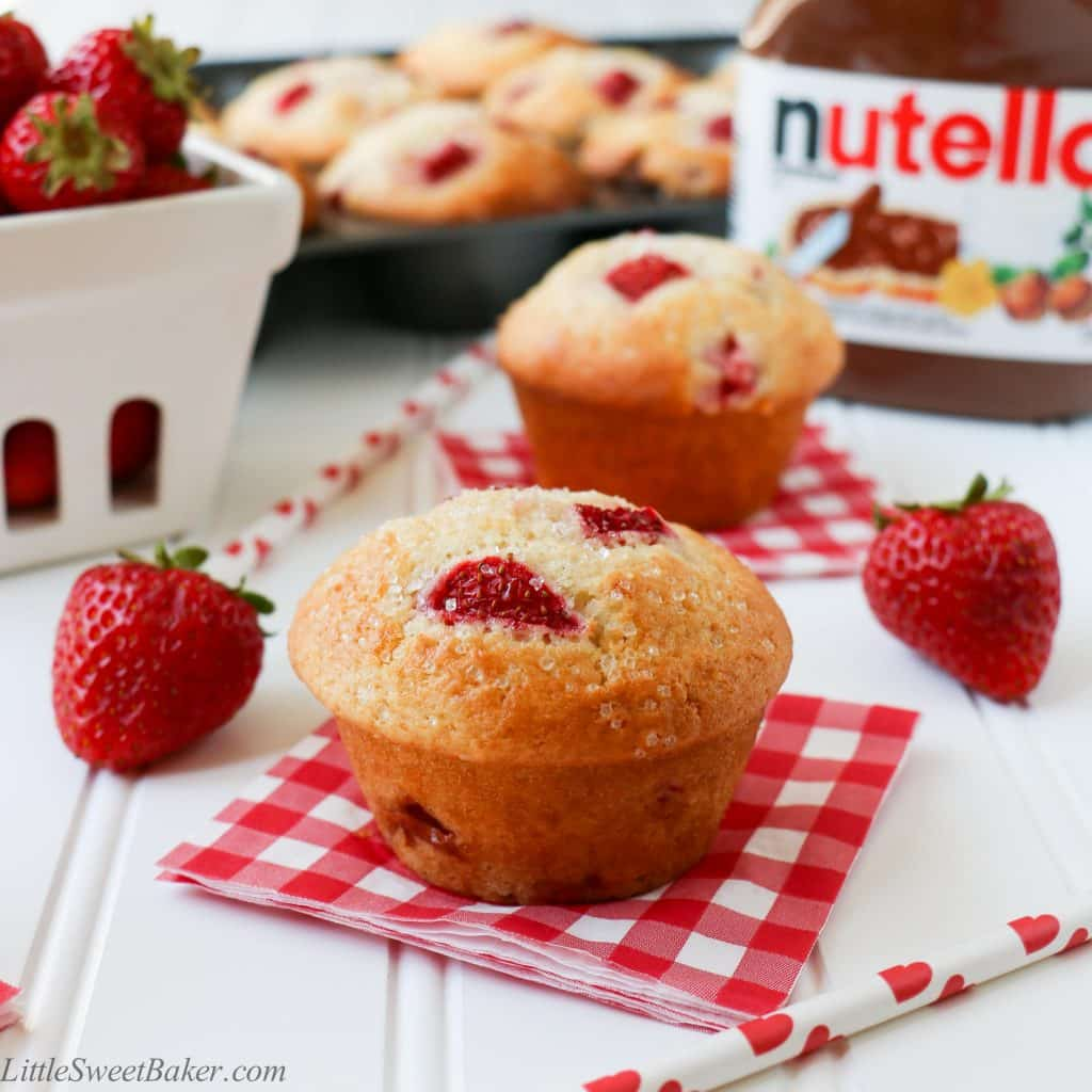 moist, and fluffy muffin that is loaded with fresh juicy strawberries ...
