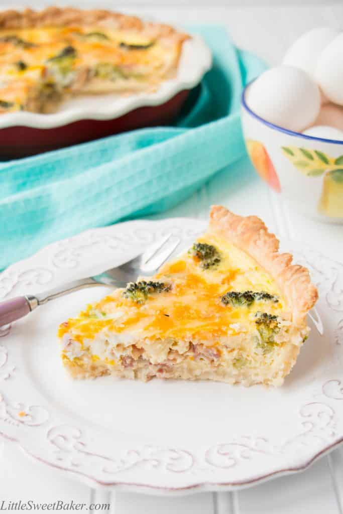 Get complete instructions on how to make a simple and delicious quiche from scratch, and how to create your own variations.